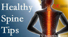 Most Chiropractic Clinic posts healthy spine tips from the American Chiropractic Association with Murfreesboro chiropractic patients.