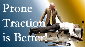 Murfreesboro spinal traction applied lying face down – prone – is best according to the latest research. Visit Most Chiropractic Clinic.