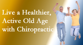 Most Chiropractic Clinic invites older patients to incorporate chiropractic into their healthcare plan for pain relief and life's fun.