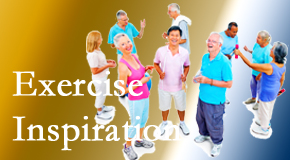 Most Chiropractic Clinic hopes to inspire exercise for back pain relief by listening closely and encouraging patients to exercise with others.