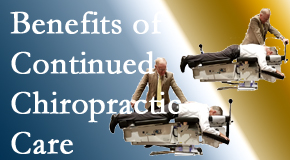 Most Chiropractic Clinic offers continued chiropractic care (aka maintenance care) as it is research-documented to be effective.