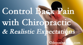 Most Chiropractic Clinic helps patients establish realistic goals and find some control of their back pain and neck pain so it doesn't necessarily control them.