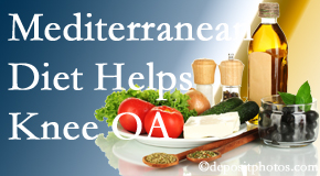 Most Chiropractic Clinic shares recent research about how good a Mediterranean Diet is for knee osteoarthritis as well as quality of life improvement.