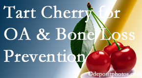 Most Chiropractic Clinic shares that tart cherries may improve bone health and prevent osteoarthritis.