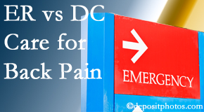 Most Chiropractic Clinic welcomes Murfreesboro back pain patients to the clinic instead of the emergency room for pain meds whenever possible.