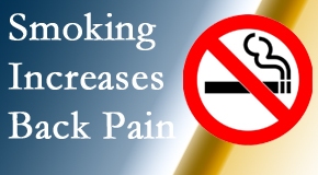Most Chiropractic Clinic explains that smoking intensifies the pain experience especially spine pain and headache.