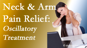 Most Chiropractic Clinic reduces neck pain and related arm pain by using gentle motion-based manipulation.
