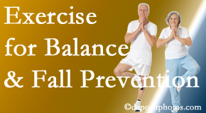 Murfreesboro chiropractic care of balance for fall prevention involves stabilizing and proprioceptive exercise.