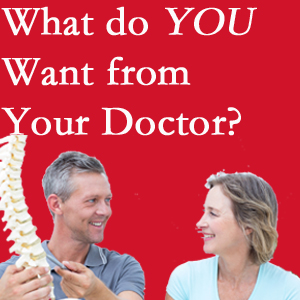 Murfreesboro chiropractic at Most Chiropractic Clinic includes examination, diagnosis, treatment, and listening!