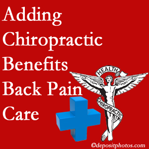 Added Murfreesboro chiropractic to back pain care plans works for back pain sufferers.