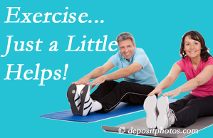 Most Chiropractic Clinic encourages exercise for better physical health as well as reduced cervical and lumbar pain.