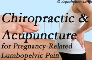 Murfreesboro chiropractic and acupuncture may help pregnancy-related back pain and lumbopelvic pain.