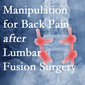 Murfreesboro chiropractic spinal manipulation assists post-surgical continued back pain patients discover relief of their pain despite fusion.