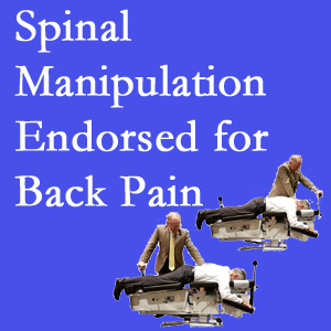 Murfreesboro chiropractic care includes spinal manipulation, an effective,  non-invasive, non-drug approach to low back pain relief.