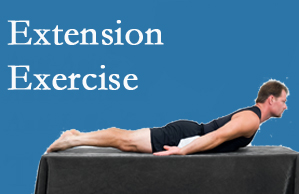 Most Chiropractic Clinic recommends extensor strengthening exercises when back pain patients are ready for them.