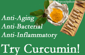 Pain-relieving curcumin may be a good addition to the Murfreesboro chiropractic treatment plan.