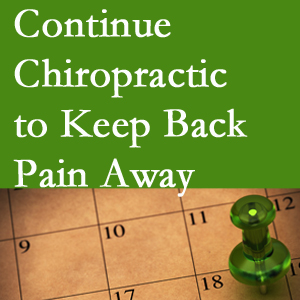 Continued Murfreesboro chiropractic care fosters back pain relief.