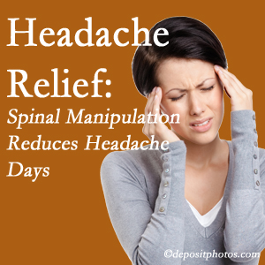 Murfreesboro chiropractic care at Most Chiropractic Clinic may reduce headache days each month.