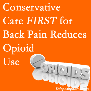 Most Chiropractic Clinic provides chiropractic treatment as an option to opioids for back pain relief.