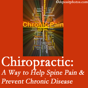 Most Chiropractic Clinic helps ease musculoskeletal pain which helps prevent chronic disease.
